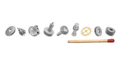 Photo of small parts